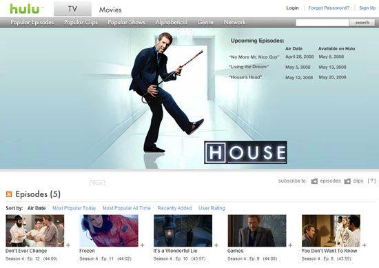 hulu watch house online   Hulu: Watch Favorite TV Show Episodes Online