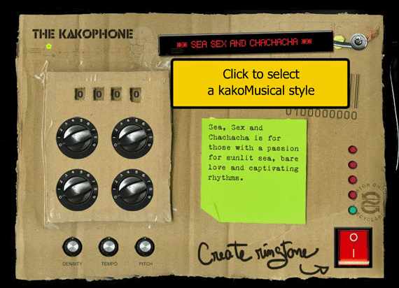 Kakaphone - Free Ringtone Composition Machine