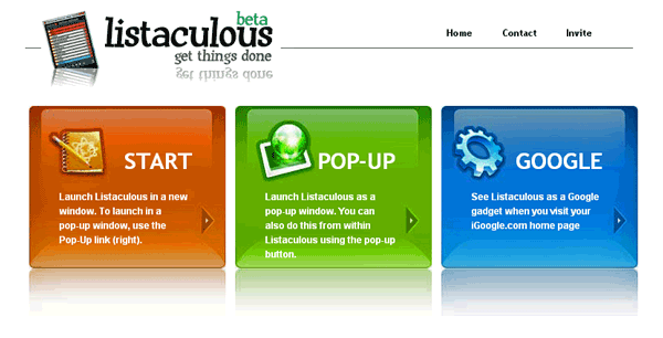 Listaculous : To-do List Manager