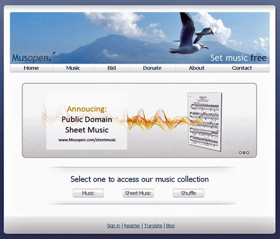 Musopen - Public-domain Classical Music