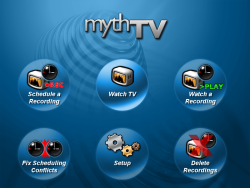 Cool Windows Media Center Alternatives mythtvscreenshot