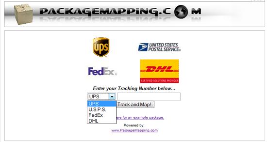 Track UPS, USPS, FedEx and DHL Parcels