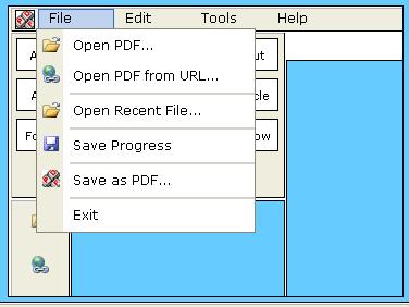 pdf escape 2   PDF Escape : Edit PDF Documents Online