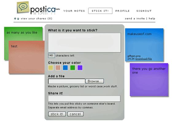 Postica - Sticky Notes