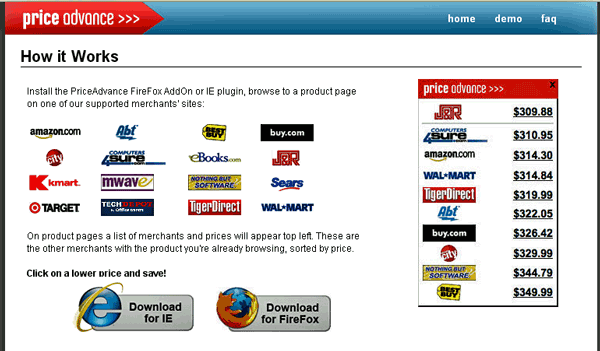 PriceAdvance - Compare Product Prices