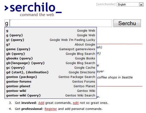 Serchilo - Search command line