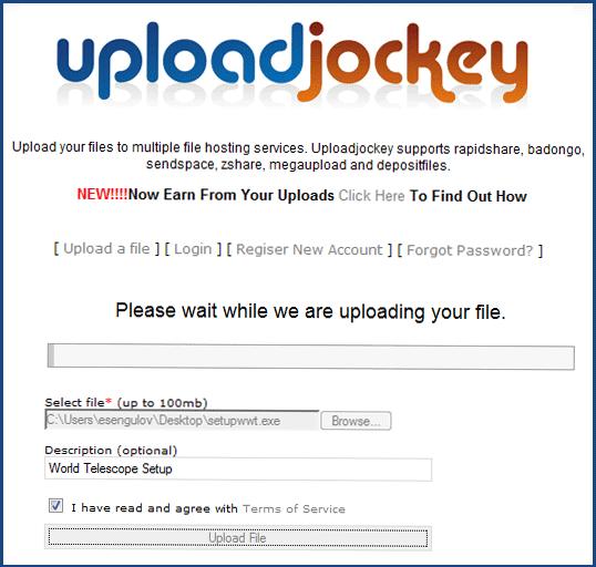 UploadJockey -
