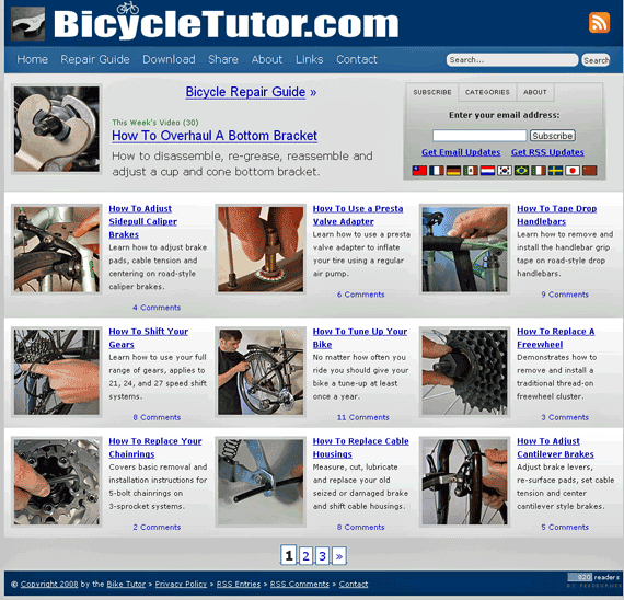 bike repair guide