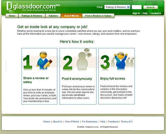 glassdoor   GlassDoor: Compare your Salary with Others