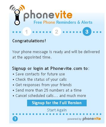 Phonevite - Blast Out Voice Messages To Your Team For Free phonevite5
