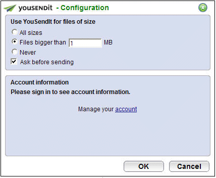 send large files through email