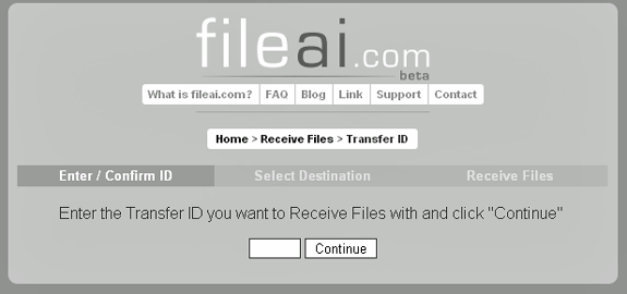 transfer big files securely