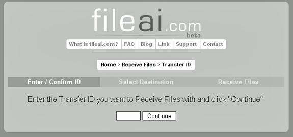 transfer big files securely