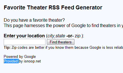 4 RSS Feeds For The Movies Addict