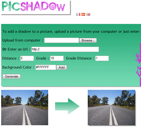 Add Shadow Effect to Images