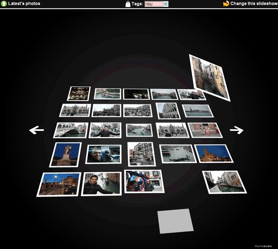 flickr slideshow