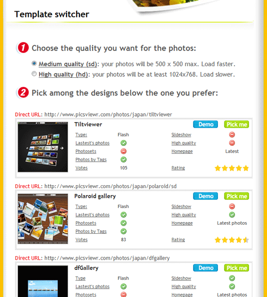 picviewr flickr   Picsviewr: Share your Flickr Photos in a Stylish Slideshow