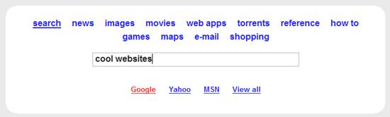 Samfind Web Search