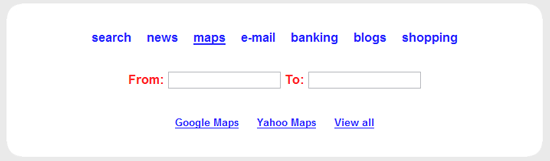 Samfind Maps & Directions Search