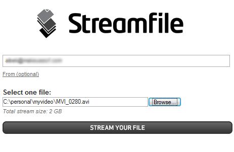 large file transfer website