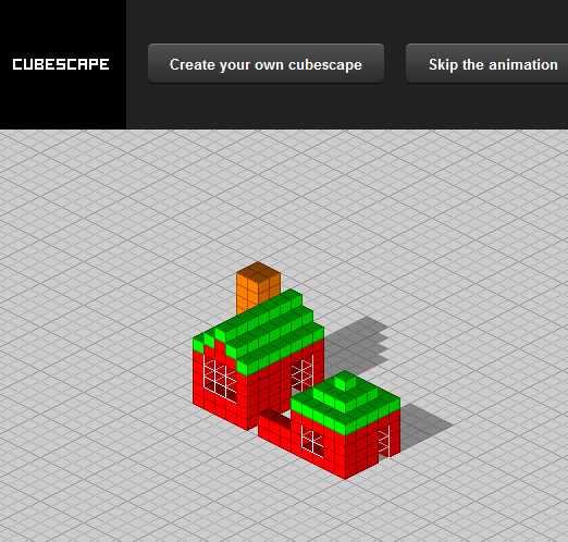 cube pixel art   CubeScape: Generate 3D Pixel Art