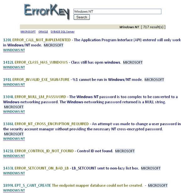 os x error codes
