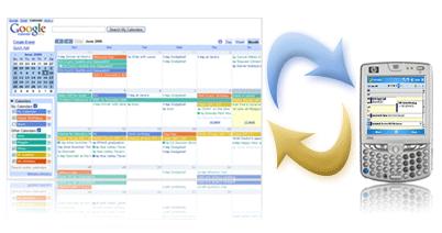 Sync Google Calendar with Blackberry or iPhone