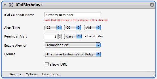 Birthday Alarms Automated Email Notifications And Ical Mac Only