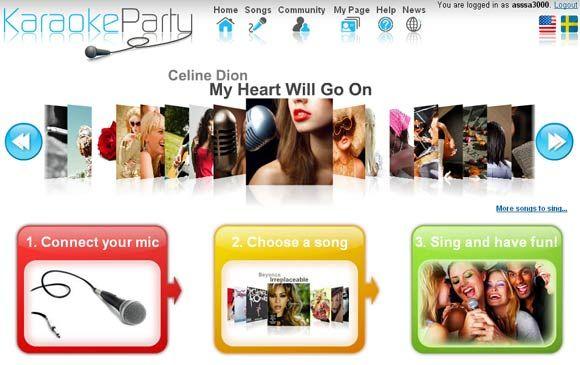 online karaoke service