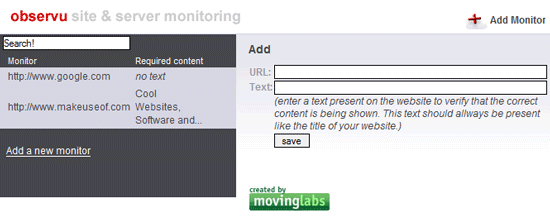 get alerted when your website is down