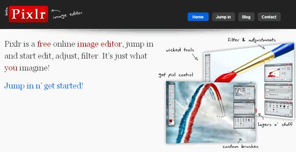 online image and photo editor