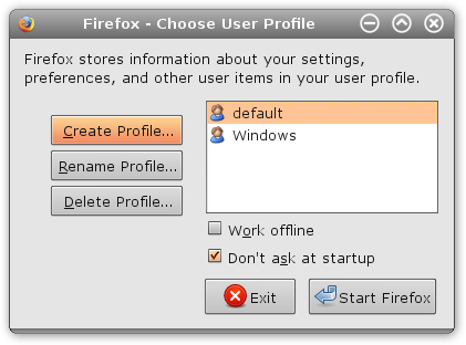 Share Your Firefox Data Across Operating Systems & Computers profile