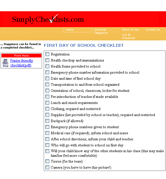 simplychecklists1   SimplyChecklists: Free Checklists for Everyday Life