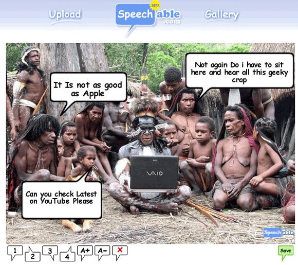 add speech bubbles