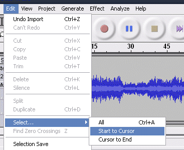 How To Make MP3 Mobile Ringtones With Audacity starwarsringtone2