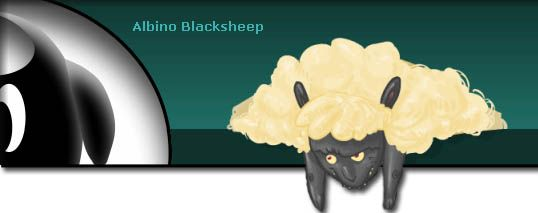 albino black sheep games