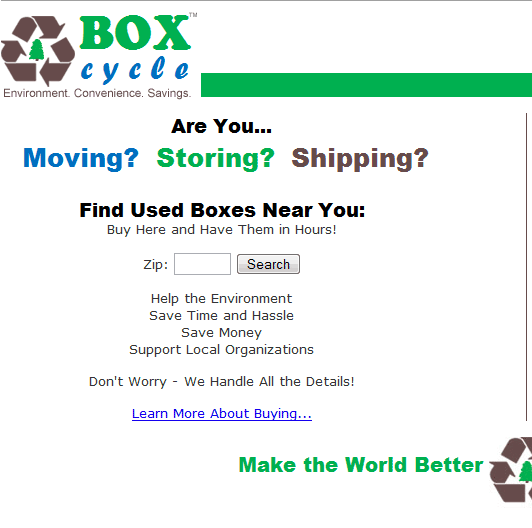 BoxCycle - buy cardboard boxes online