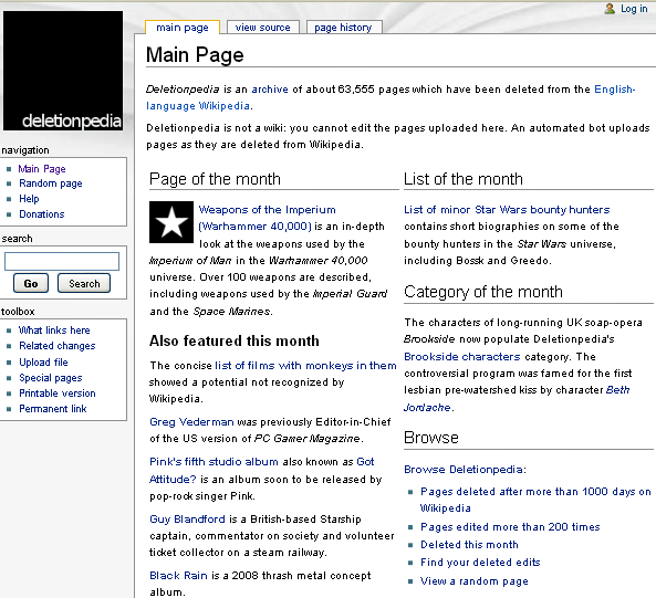 deleted wikipedia articles