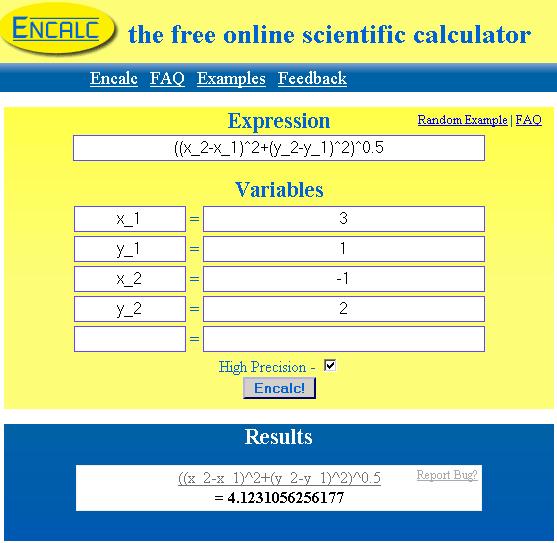 free online scientific calculator