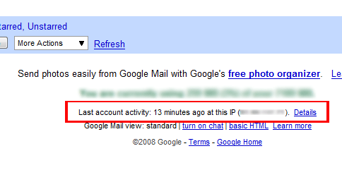 Check if Your Gmail Account is Hacked with Activity Monitor