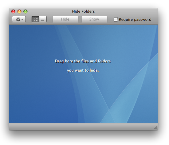 9 Useless Applications Just For Fun [Mac Only] hide folders