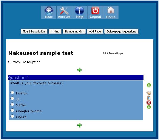 online survey maker