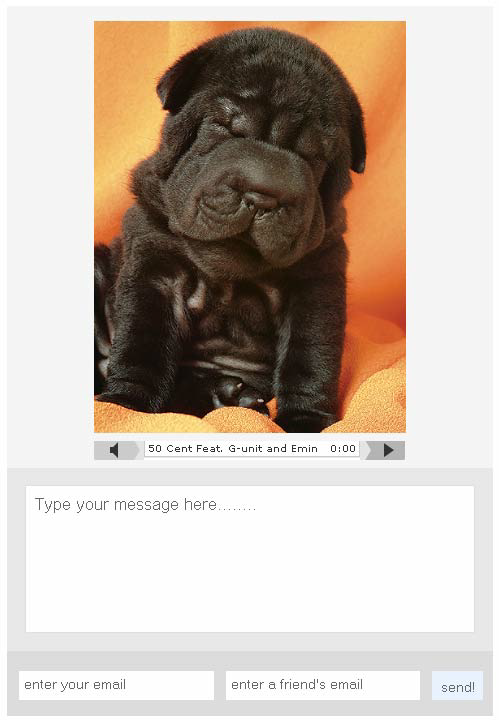 postcardfm1   Postcard.fm: Send Customizable Audio & Image E cards