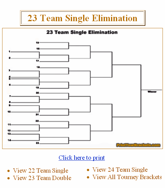 printyourbrackets1   PrintYourBrackets: Printable Tournament Brackets And Office Pools