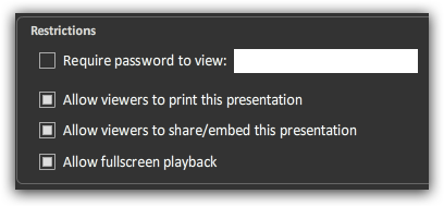 Make Beautiful Online Presentations With Sliderocket restrictions