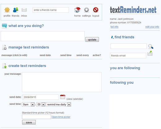 send free text messages online