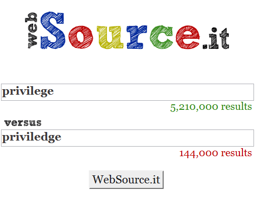 websource it   WebSourceIt : Which of The Two Spellings is Right?