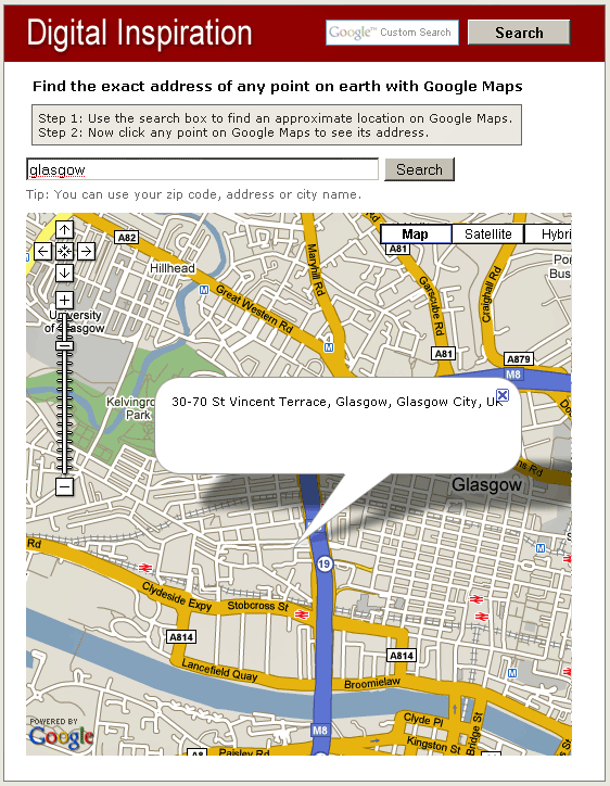 addressfinder   Address Finder: Get The Address of Any Point on Google Maps