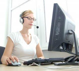 virtual call center job