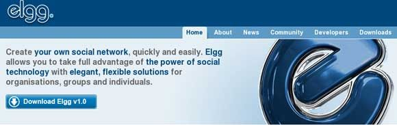 elgg - open source social networking